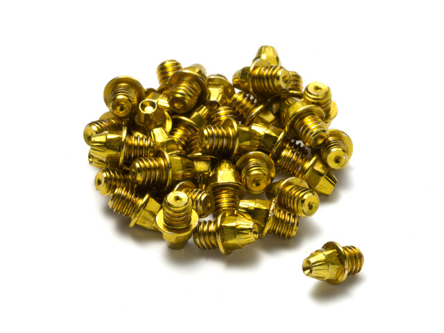 Reverse Pedal Pin Set M4x4mm 24 Stück gold